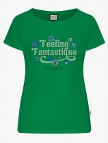 Green Feeling Fantastic Mademoiselle Yéyé Organic Cotton women Tshirt