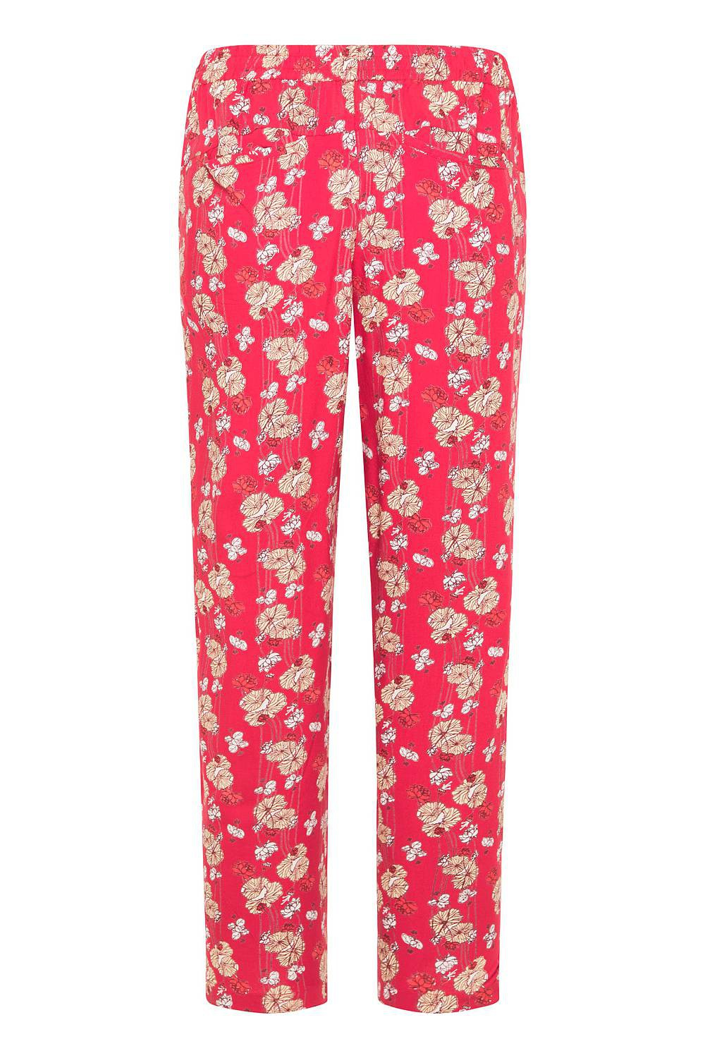 Tranquillo Zwena fluid red trousers