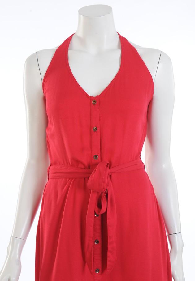 Halter Dress Red Princess Nomad
