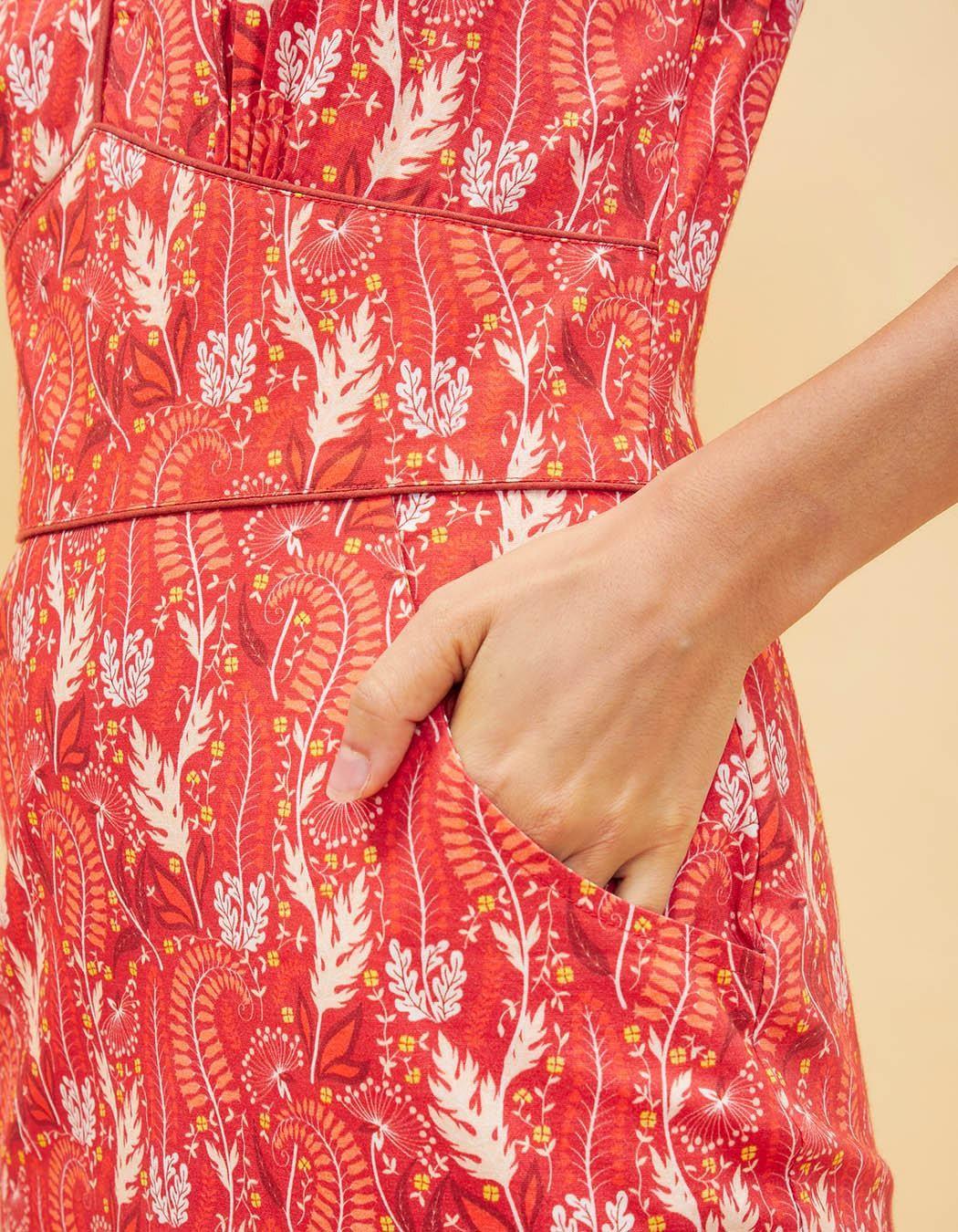 original dress La Fiancée Du Mékong Yriana red