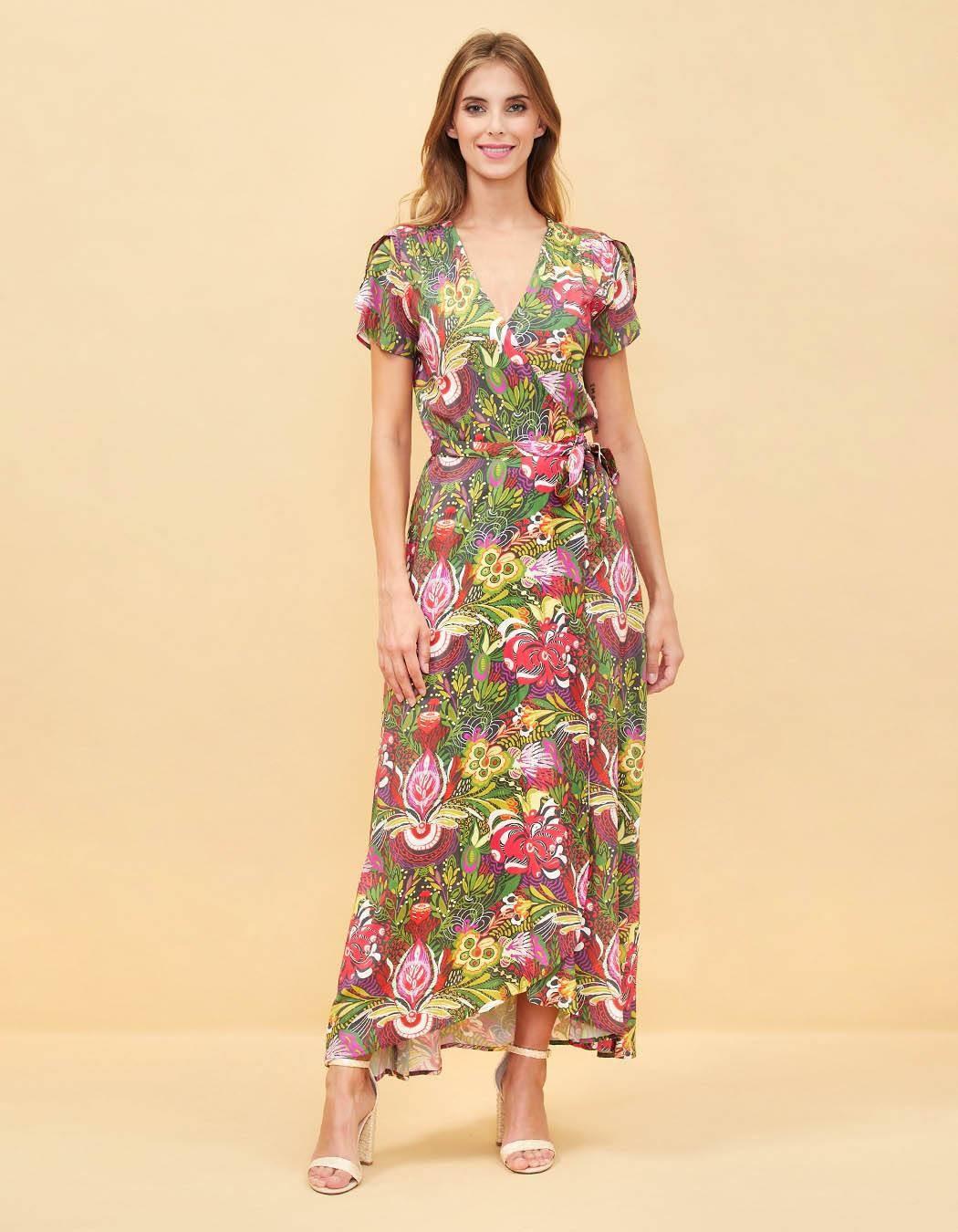 Printed Dress La Fiancée Du Mékong Eleza licorice