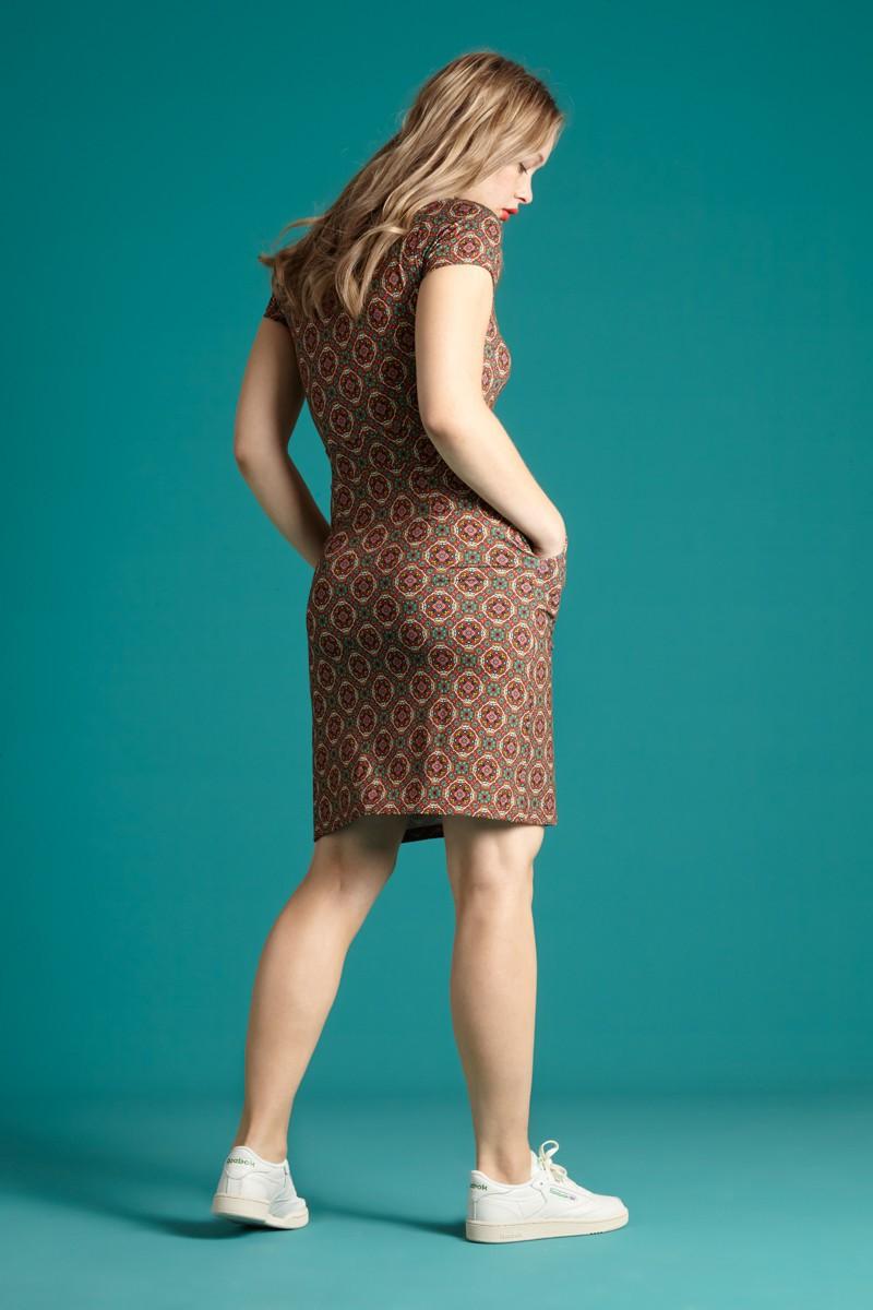 Fitted Dress King Louie, Mona Morada
