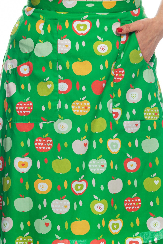 retro green skirt Selma Cissi Osh, Sonja Apple