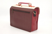 Small leather briefcase single model # 16
