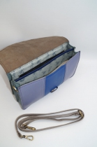 Women shoulder bag two compartments leather # 1