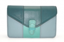 Women shoulder bag two compartments leather # 2