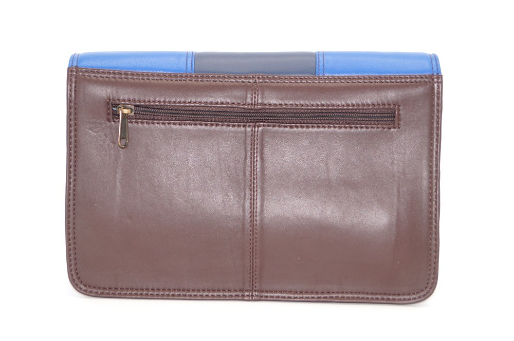 Women shoulder bag two compartments leather # 6