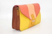 Women shoulder bag two compartments Leather # 11