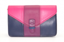 Women shoulder bag two compartments Leather # 12