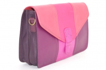 Women shoulder bag two compartments Leather # 14
