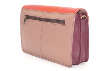 Women shoulder bag two compartments Leather # 16