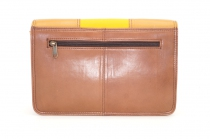 Women shoulder bag two compartments Leather # 18