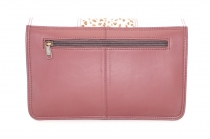 Women shoulder bag two compartments Leather # 19
