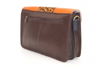 Women shoulder bag two compartments Leather # 20
