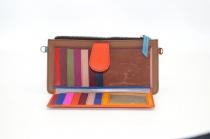 leather wallet / single model Companion woman # 1