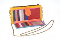 leather wallet / Companion single woman model # 7