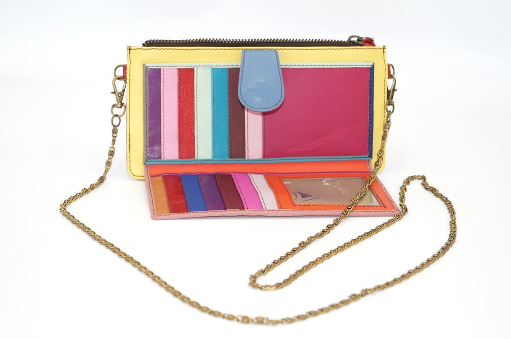 leather wallet / Companion unique model woman # 10