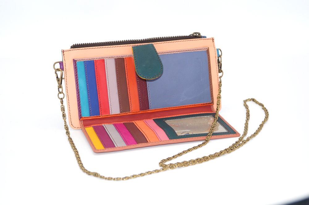 leather wallet / Companion unique model woman # 15