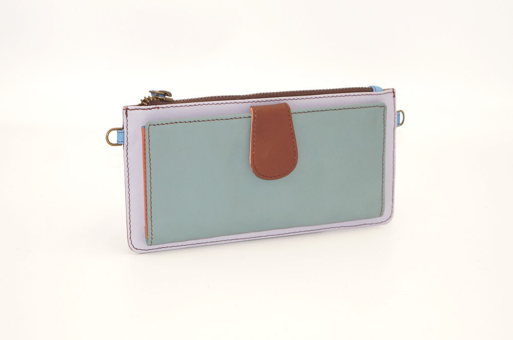 leather wallet / single model Companion woman # 19