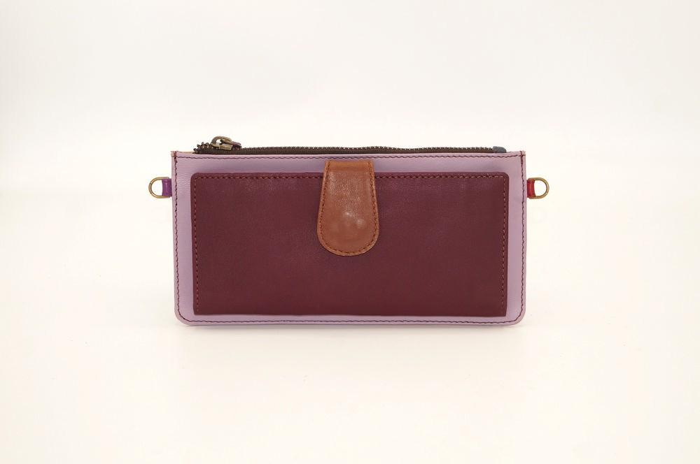 leather wallet / Companion unique model woman # 20