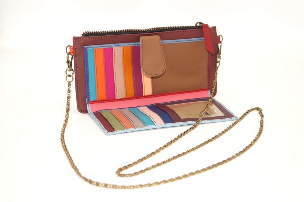 leather wallet / single model Companion woman # 21