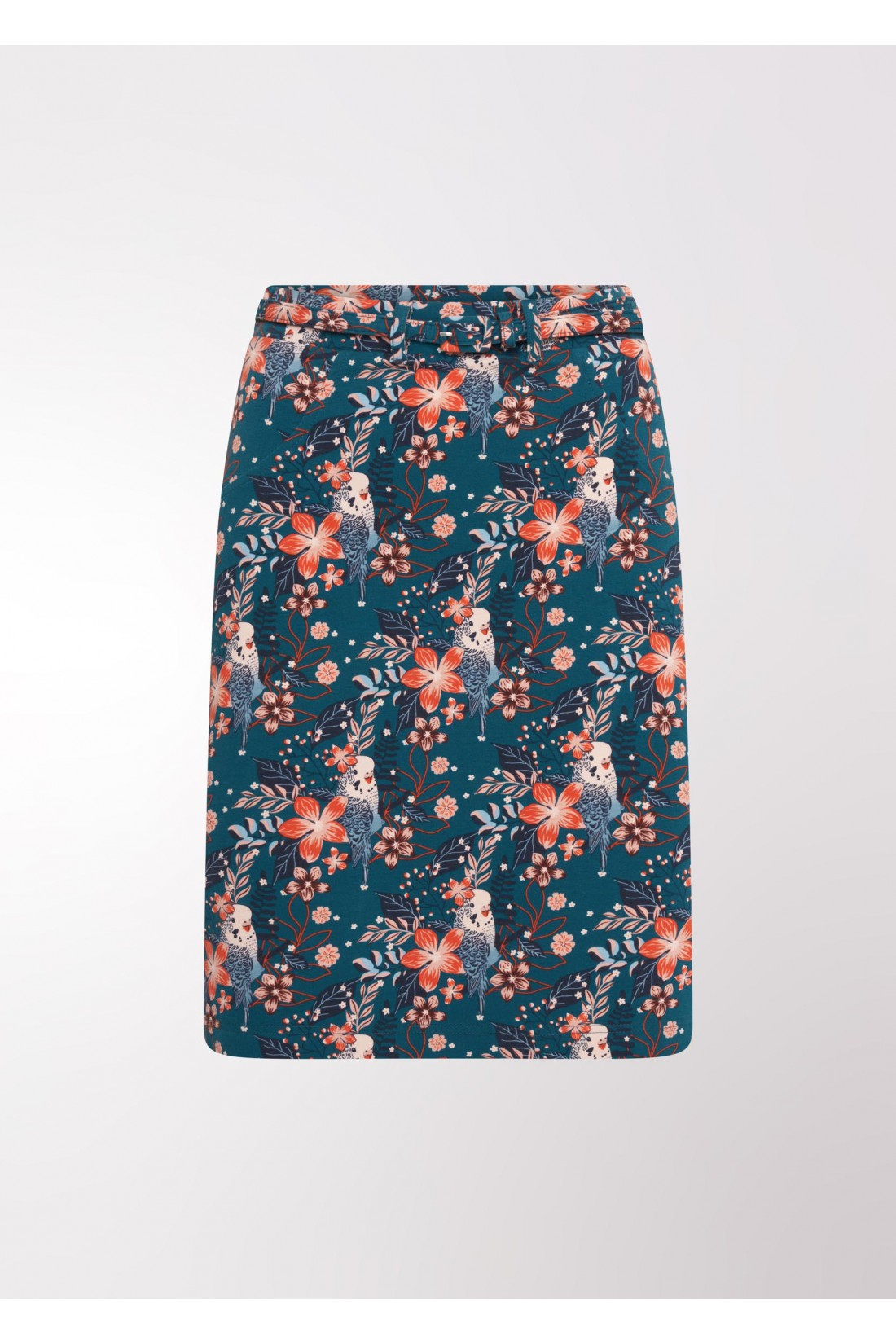 original blue floral skirt 4FF, Music is my way of life