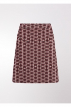 printed disco Line Skirt 4FF, Is not nothin 'goin' The goal is rent