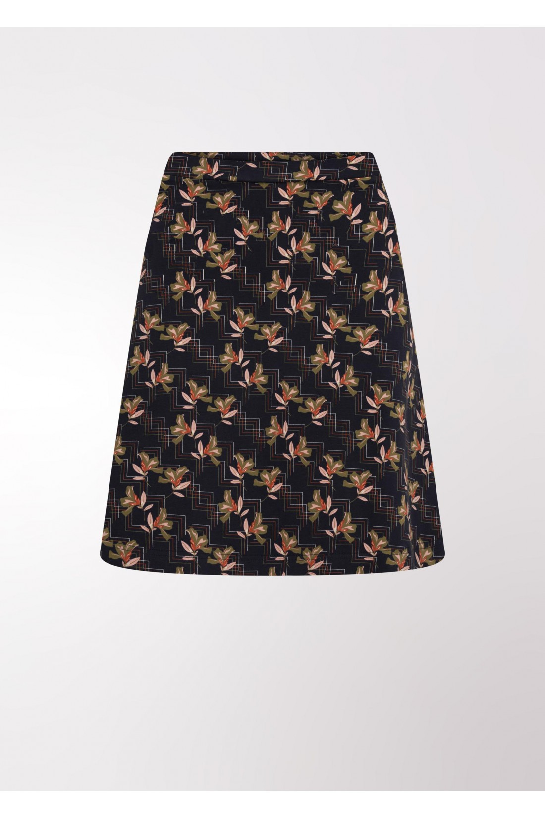 printed blue line skirt 4FunkyFlavours, The Rock