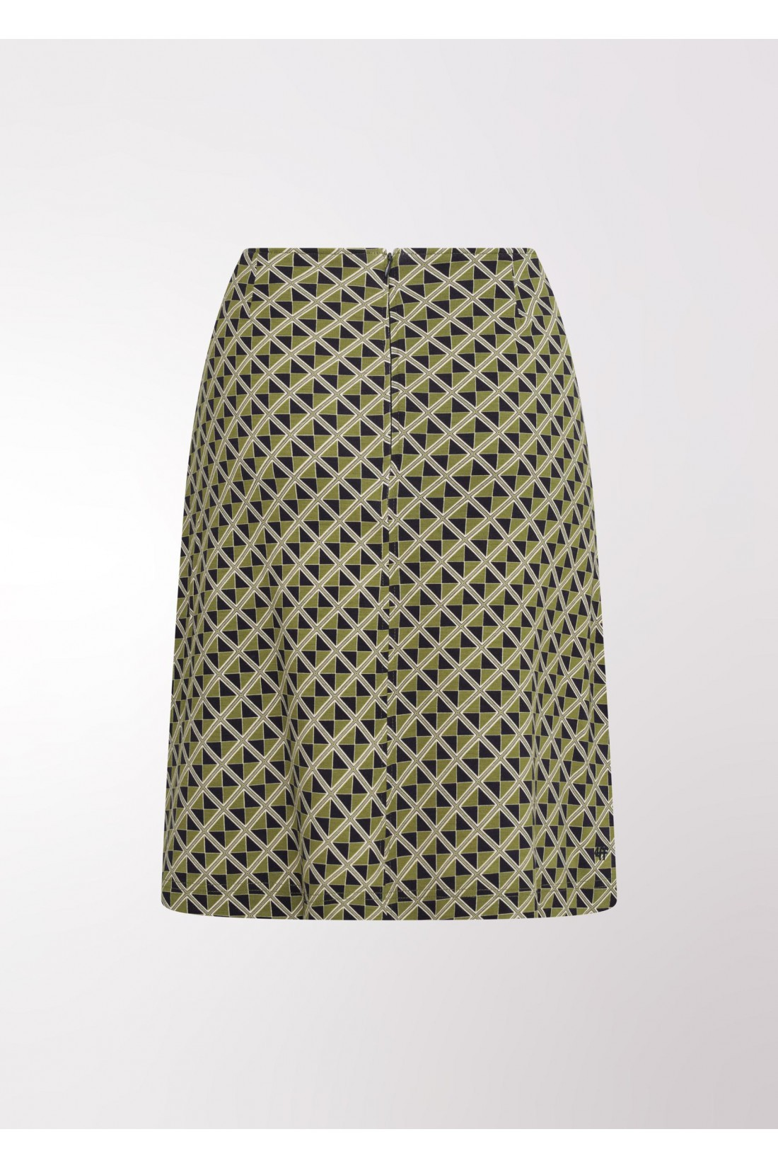 green skirt with geometric pattern 4FF, Your love is a life saver
