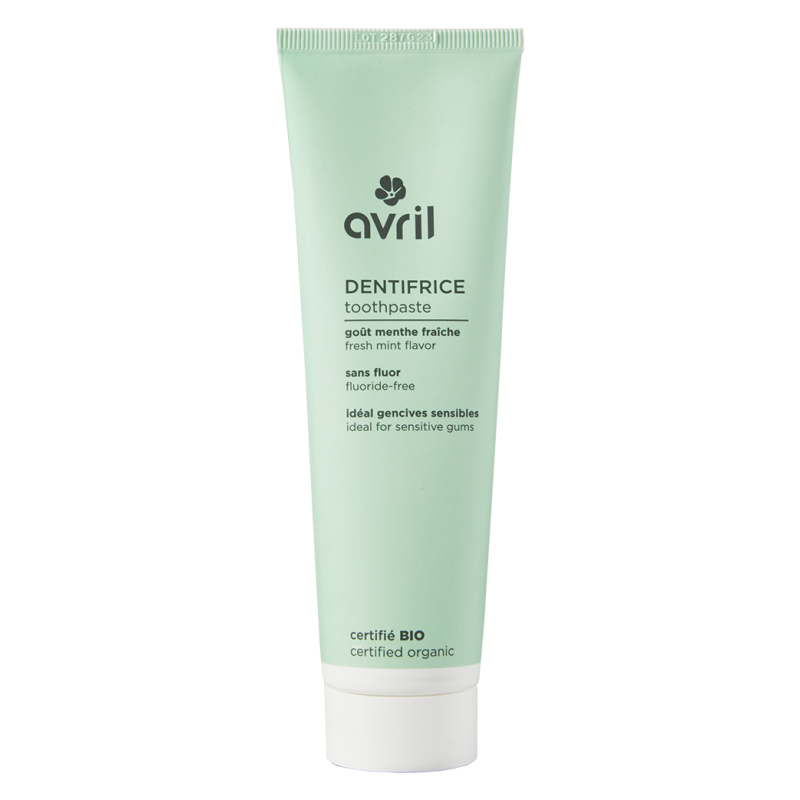 Mint Toothpaste 100ml - Certified organic Avril cosmetics