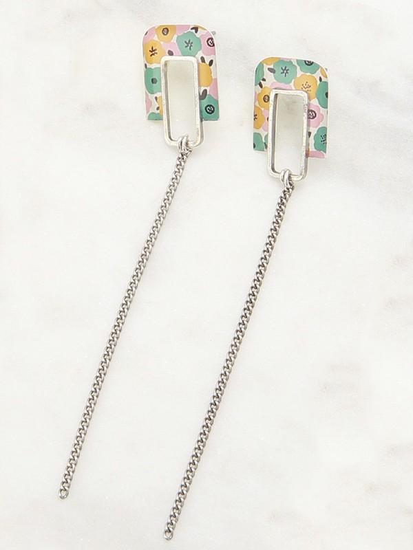 Earrings Small Silver Agathe La Belle Camille
