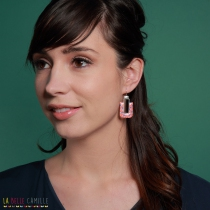 Earrings Agatha Silver Belle Camille