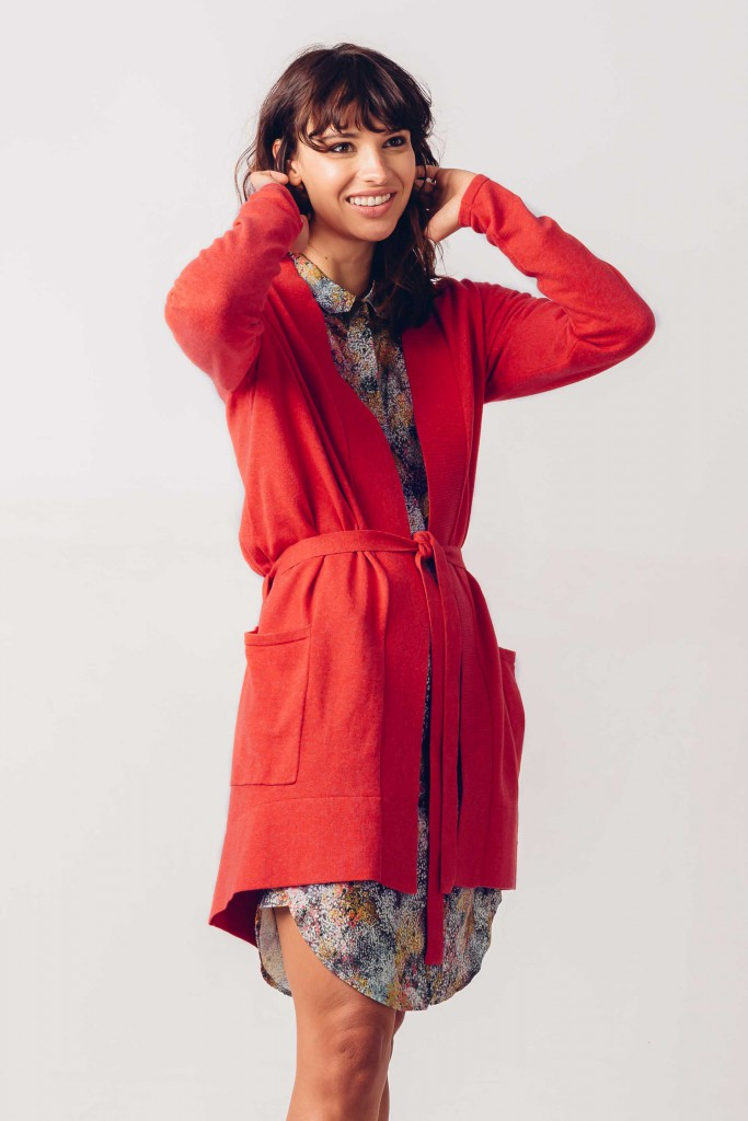 Jacket / vest red orange Hegoa SKFK