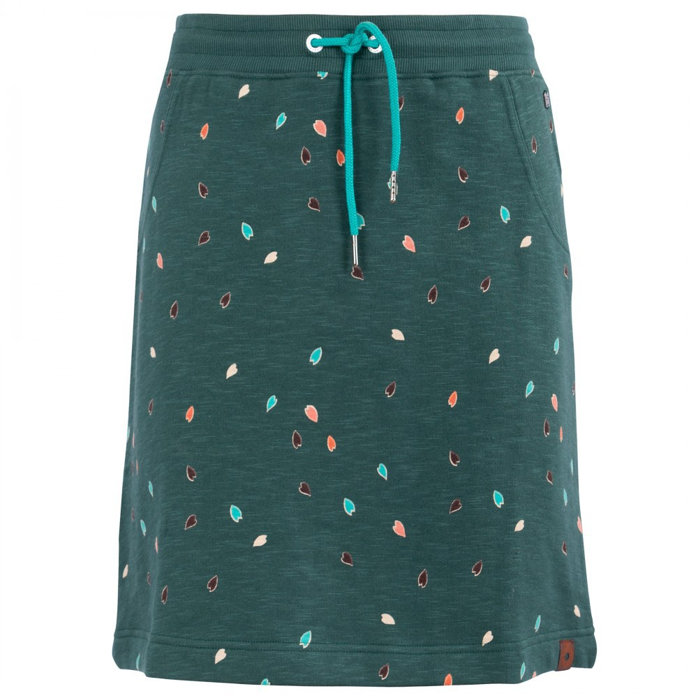 Thick green skirt Numpty FunkyFlavours