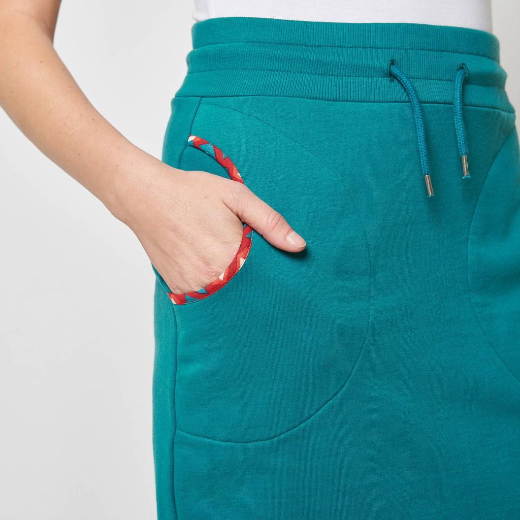 Mini Skirt Sports oil Alkes Tranquillo organic cotton GOTS