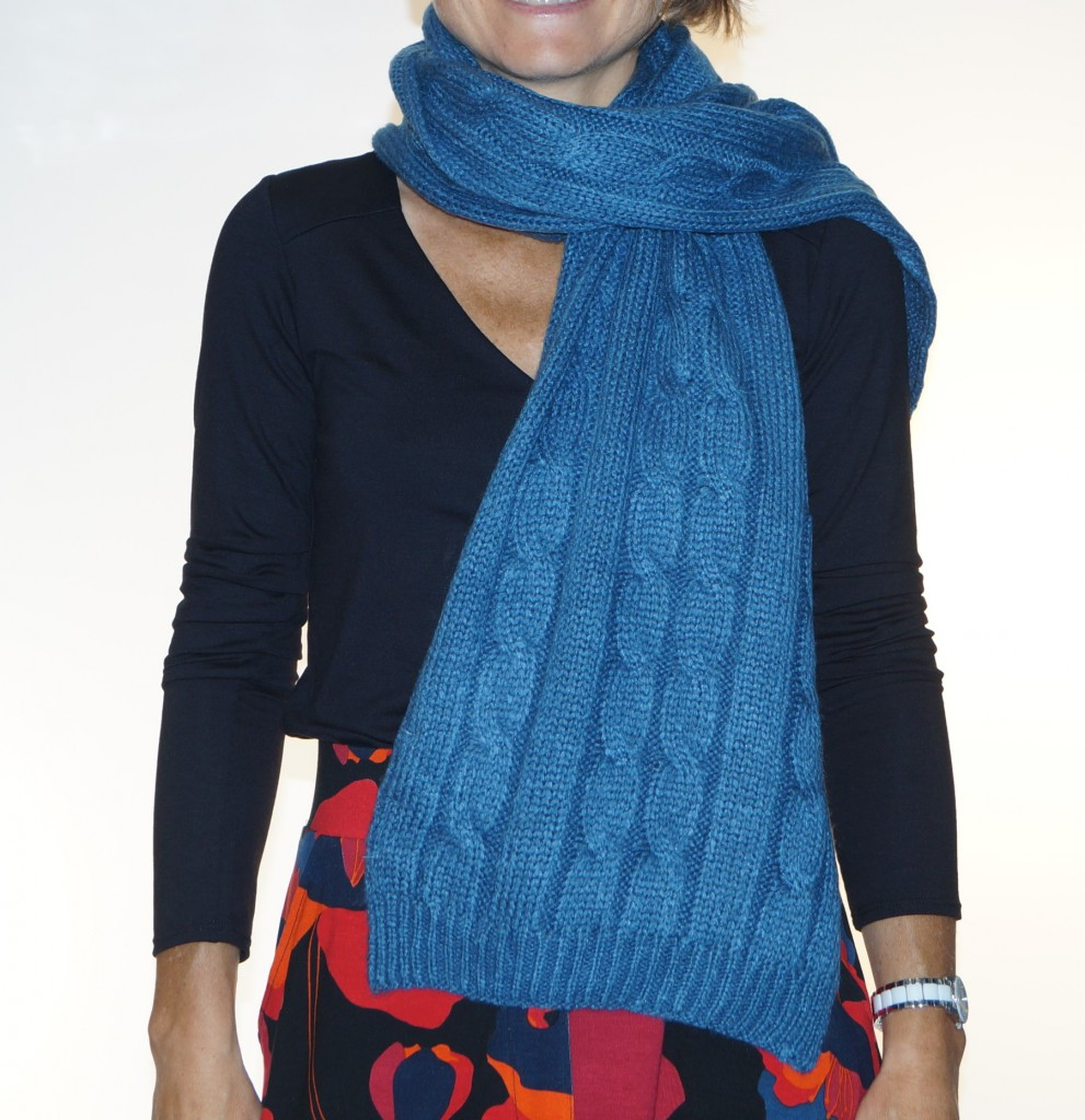 Blue Nomad wife Princess Scarf