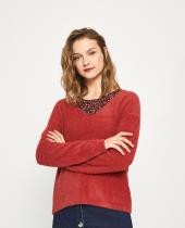 Sweater Fuzz soft red brick Surkana