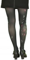 Fantasy tights printed black Lili Bell Gambettes