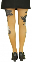 Fashion tights Lili Gambettes orange Koi carp