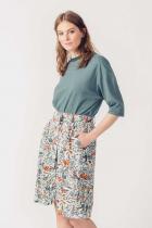 flowery flowing skirt Itza SKFK