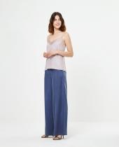Women's trousers blue Surkana very fluid