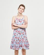 Surkana Dress flamingos