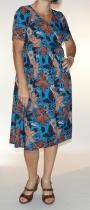 Wrap Dress Pisa blue Blah blah