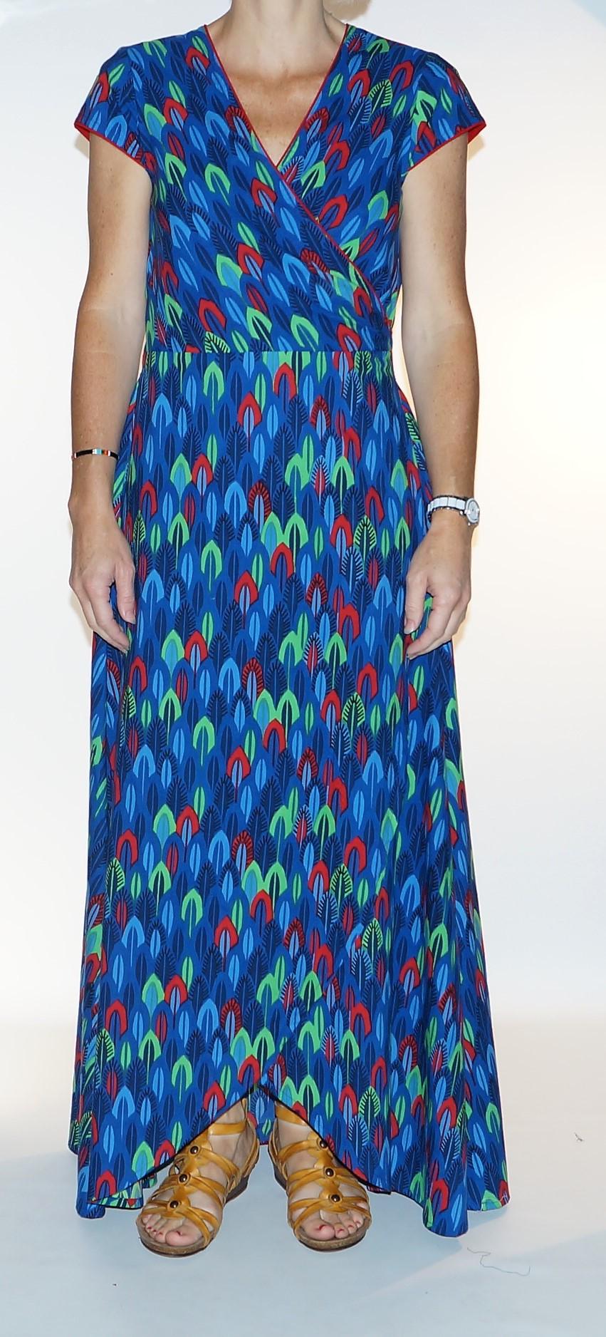 blue original dress Lalita Uma 7