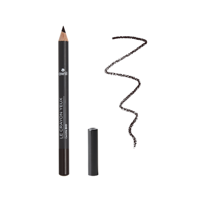 Black eye pencil Carbon Certified Organic cosmetic Avril