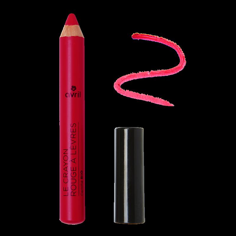 Pencil lipstick Cherry Certified Organic cosmetic Avril