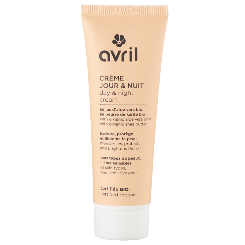 Day and night cream 50ml - Certified Organic cosmetic Avril