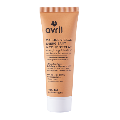 Energizing Face Mask & stunt 50ml cosmetic Avril