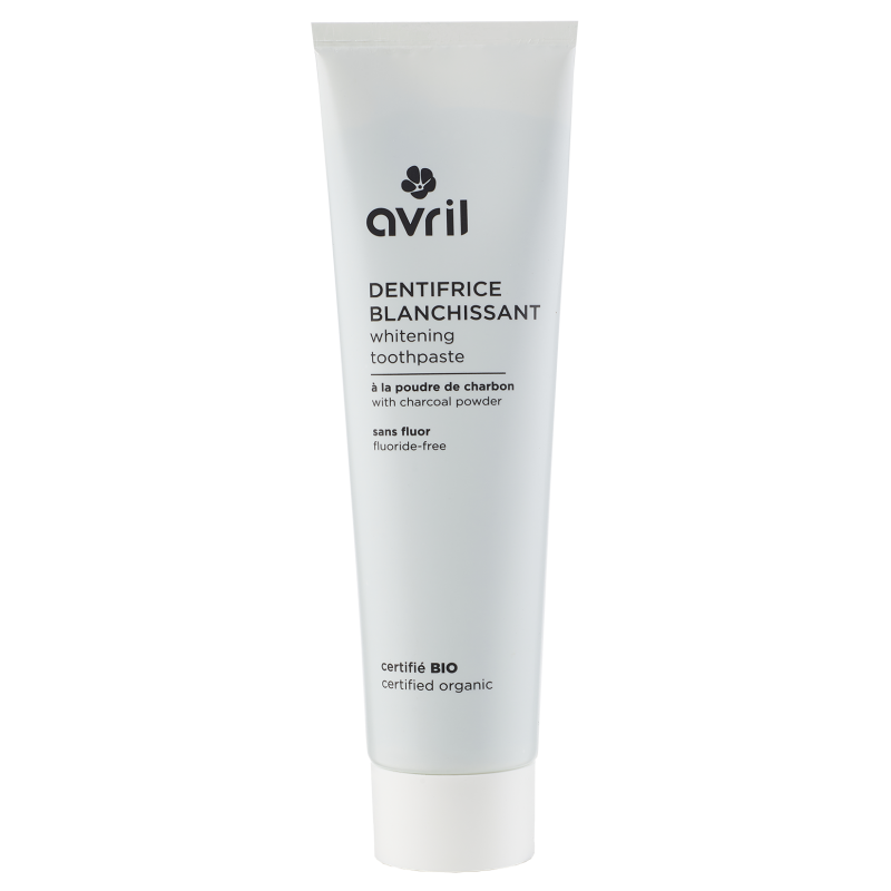 Whitening Toothpaste 100ml - Certified Organic cosmetic Avril
