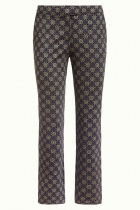King Louie retro pants, Luz Lily printed pants